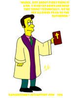 Reverend Lovejoy by DANGERcomics