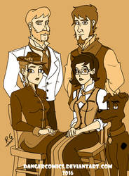 Mystery Incorporated 1887 by DANGERcomics