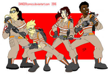 Ghostbusters 2016 by DANGERcomics