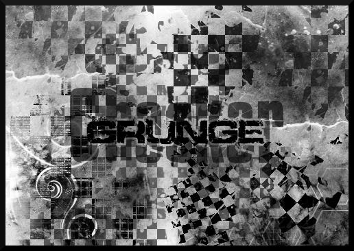 CheckerGrunge Brushes by ajsk84life