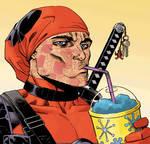 Deadpool's Face Animated