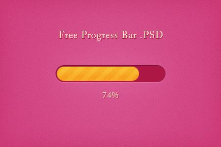 Free Progress Bar .PSD