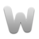 Word Token Light Icon by TemaKEKS