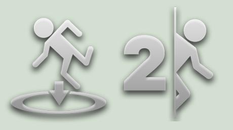 Portal Token Light Icons by TemaKEKS
