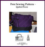 Free Sewing Pattern - Quilted Purse