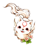 Chibi Okami Amaterasu - Icon