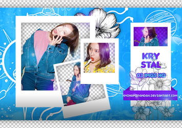 Pack Png 02// Krystal(FX) by XMinamiPandaX2