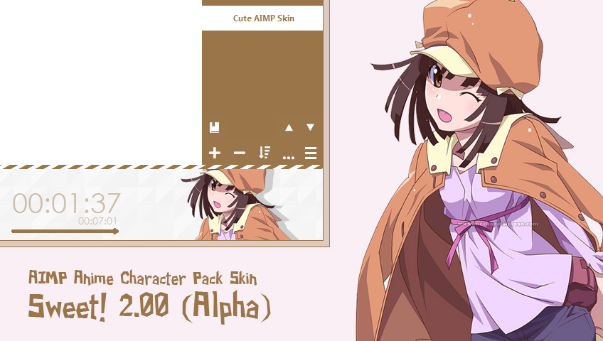 download skin aimp android anime