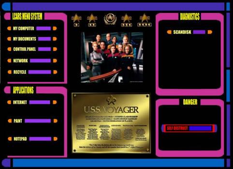 Voyager LCARS Menu System V2