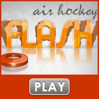 Air Hockey Flash Game by D-aRiuS