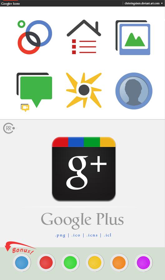 Google+ Icons by chrisringeisen