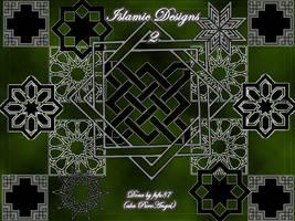 Islamic Brushes'Geometric' by fufu87