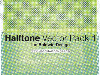 Halftone Vector Pack 1