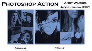 Warhol Jackie Kennedy1966 by v4r4n