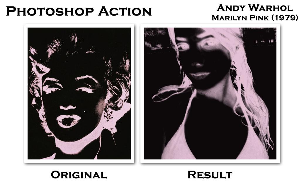 Warhol Marilyn Pink 1979