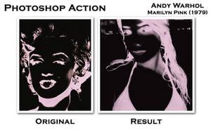 Warhol Marilyn Pink 1979 by v4r4n