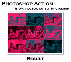 If Warhol had gotten PS action by v4r4n