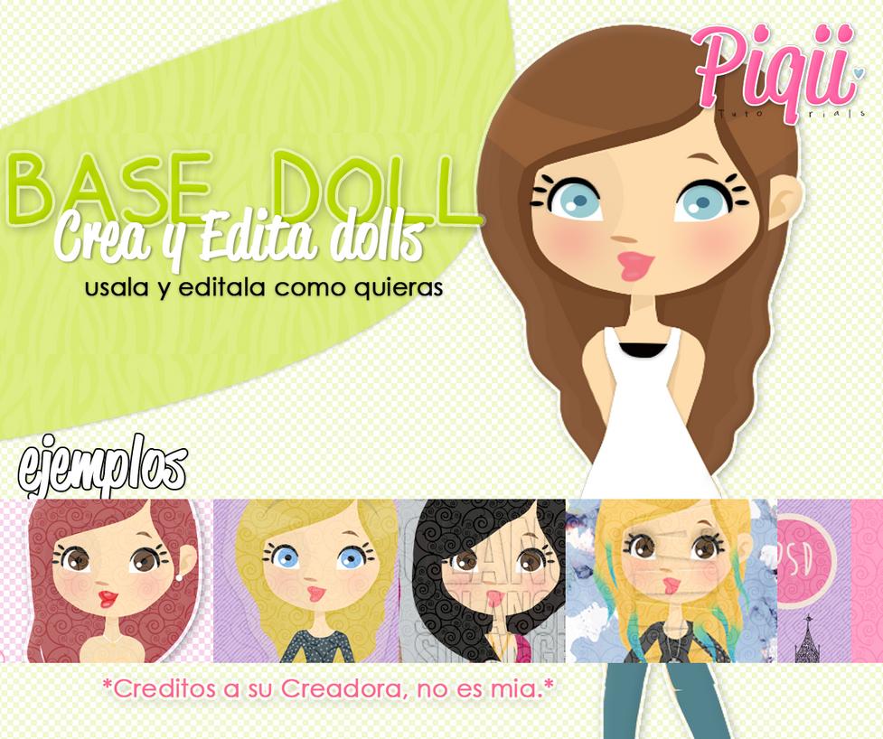 BaseDolls[para crear dolls] by TutosCreateBluue