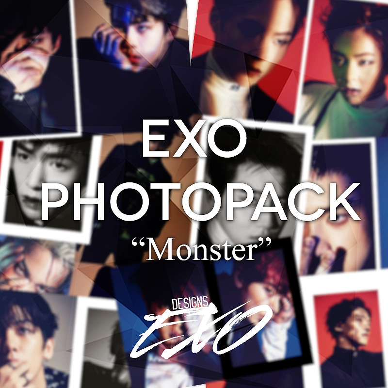 EXO - Pack Photobook Monster By EXO Designs by EXOEDITIONS
