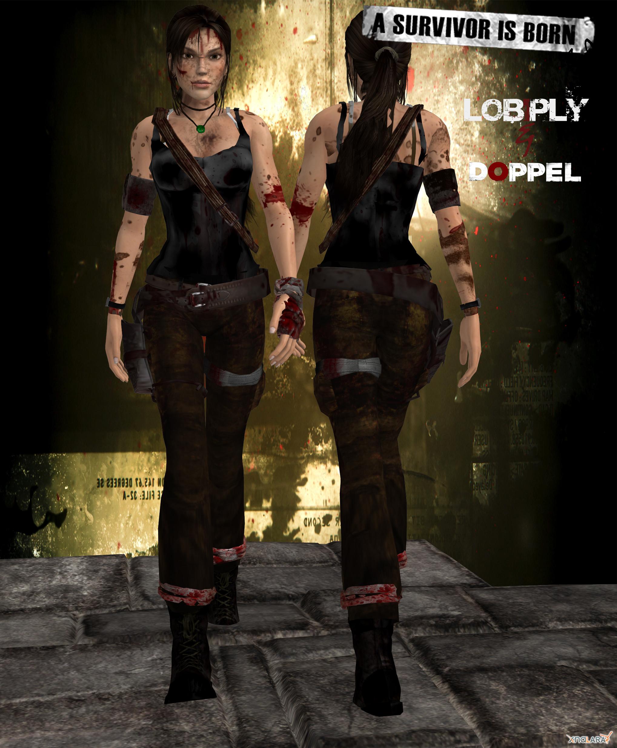 Cool Survivor Outfit Fan Art