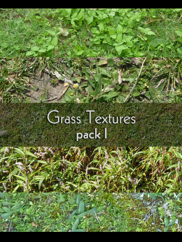 Grass Pack I by Flohock