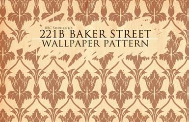 BBC Sherlock wallpaper pattern by vinree