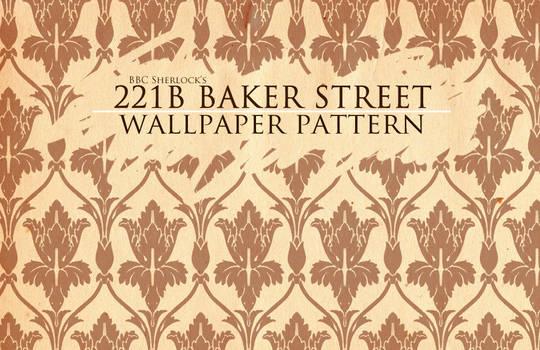 BBC Sherlock wallpaper pattern