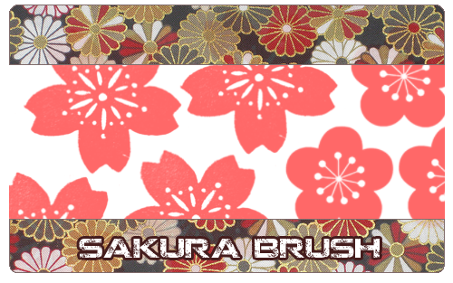 Sakura brush by KabutoNeko