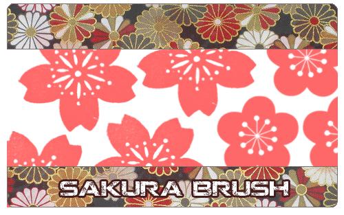 Sakura brush by KabutoNeko