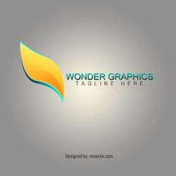 Wonder graphics logo Design Template free