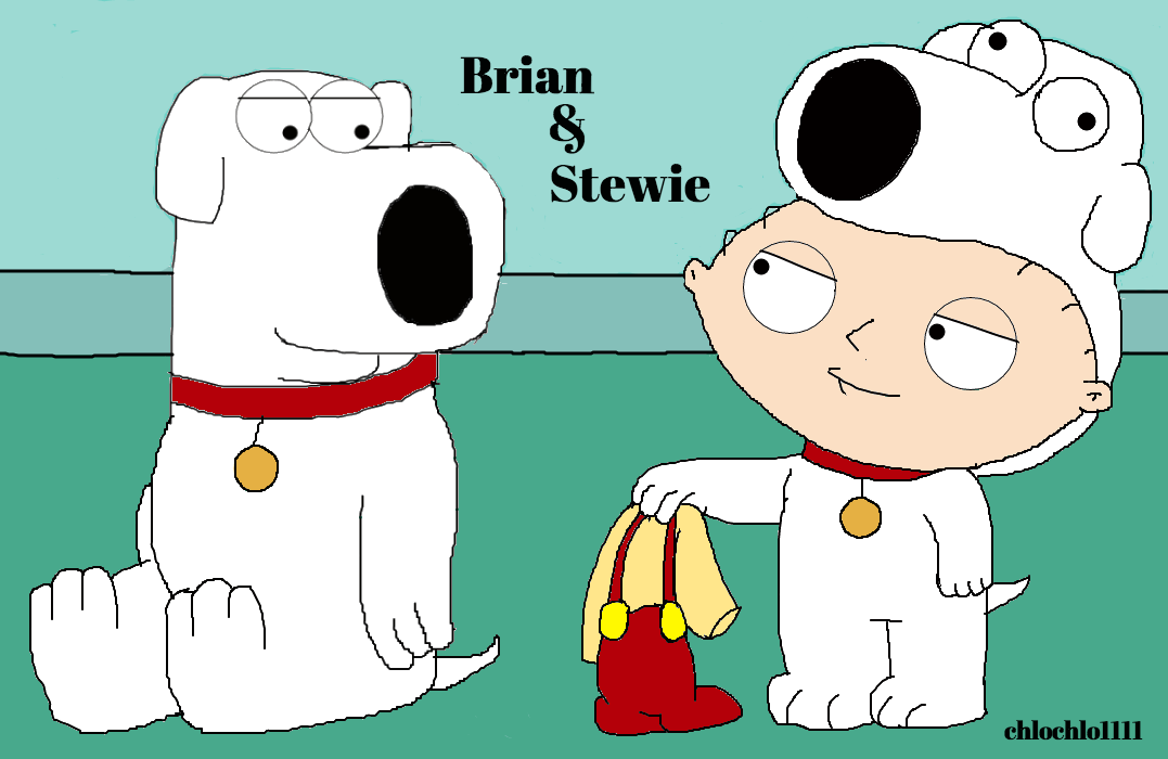 brian and stewie family guy by chlochlo1111 on deviantart