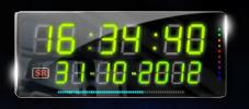 Nems LCD Clock by nems2