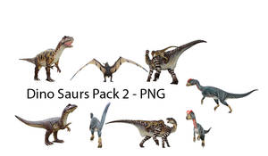 Dinosaurs Pack 02 - PNG