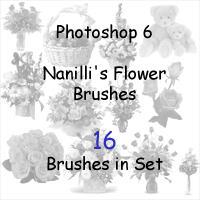 Nanilli Flower Brush Set by nanilli