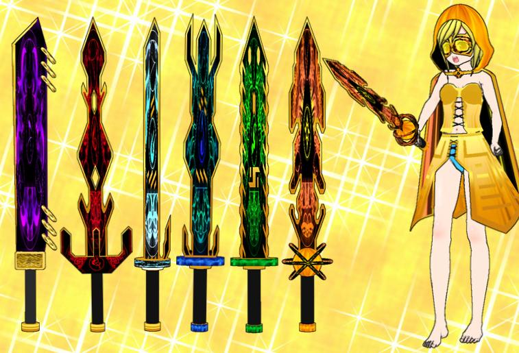 Legend Swords Pack by Daiger1975