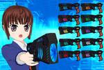 Dominator Gun pack