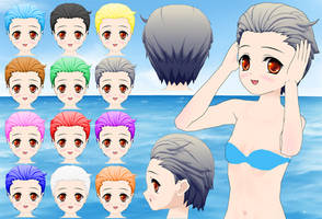 Theodore Hair pack by Daiger1975