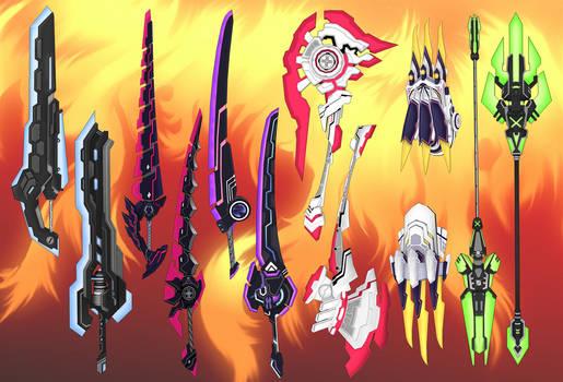 Hyperdimension Weapons pack