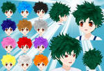 Izuku Hair pack