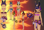New Anubis Outfit pack