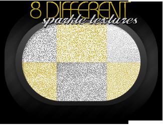 8 sparkle textures by azuRAWR