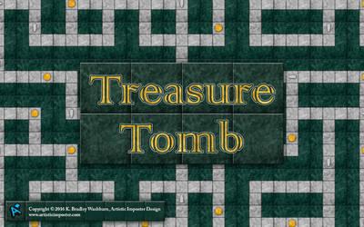 Treasure Tomb Wallpaper
