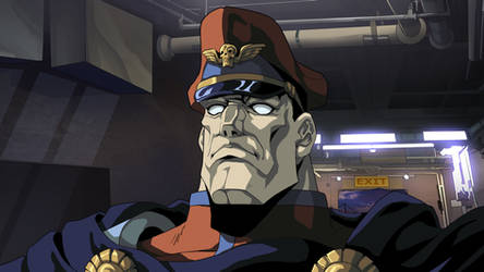 M.Bison shading process