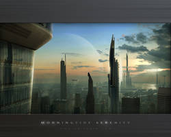 Wallpaper-Morningtide Serenity by Grimdar
