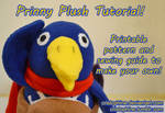 Prinny Plush Pattern and Tutorial