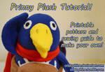 Prinny Plush Pattern and Tutorial
