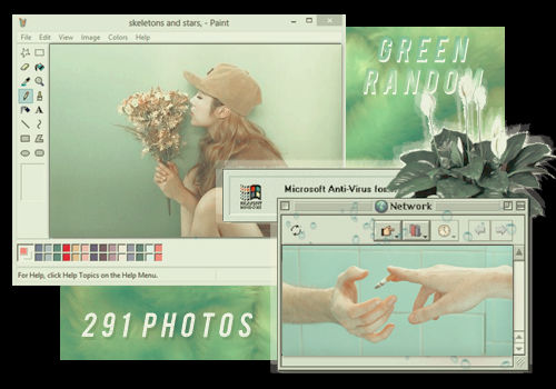 RANDOM GREEN // PACK BY REALOVEPS