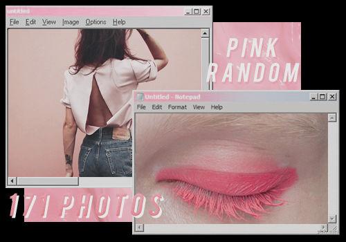 PINK RANDOM // PACK BY REALOVEPS