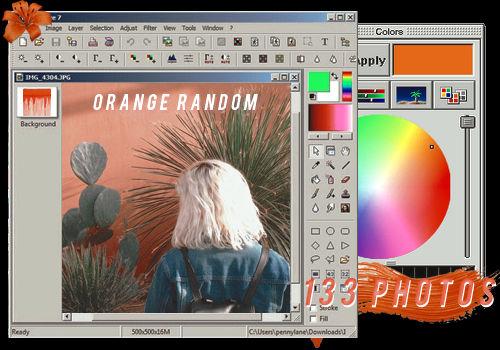 ORANGE RANDOM // PACK BY REALOVEPS