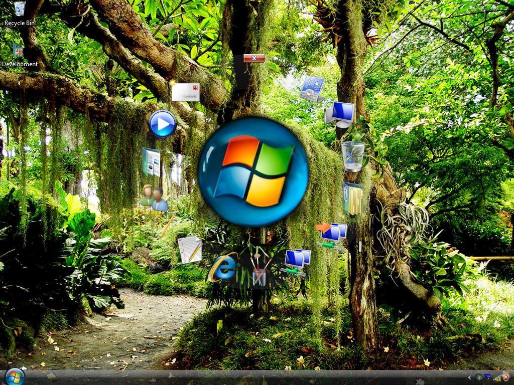 Vista Desktop Orb